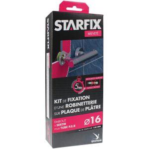 """Arcanaute Sortie de cloison STARFIX PER Ø16 Raccords à Sertir - Femelle 1/2"""""""" (15/21) pour robinetterie entraxe 150 mm"""