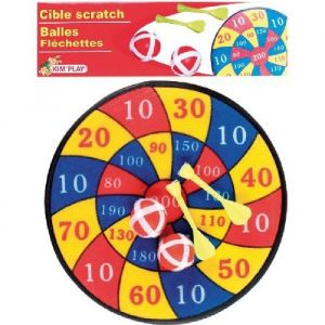 Kim'play 12604 - Jeu de plein air et sports kit cible 30 cm