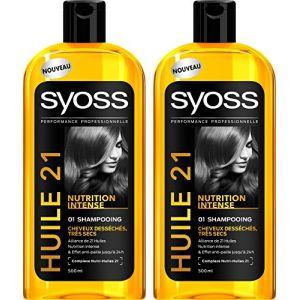 Saint Algue Syoss Elixir Nutrition - Shampooing Huile cheveux desséchés, très secs