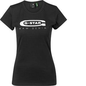 G-Star Raw T-shirt Raw Graphic Logo 20 Slim T-shirt Noir - Taille EU S,EU M,EU L,EU XL,EU XS