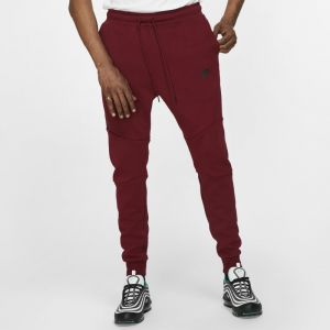 Nike Pantalon de jogging Sportswear Tech Fleece pour Homme - Rouge - Taille XL - Male