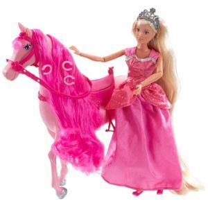 Simba Toys Steffi Love Princesse et son cheval