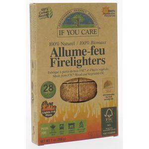 If you care Allume-Feu 100% Naturel - 28 Cubes