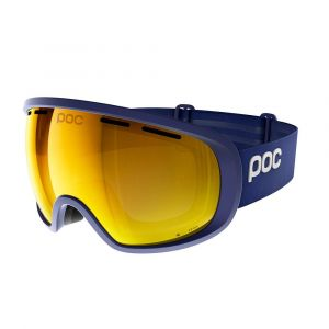 Poc Masque de Ski Fovea Clarity -Basketane Blue - Spektris Orange Bleu Marine - Femme, Homme
