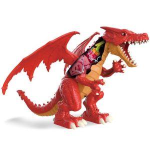 Zuru Robot Alive - Ferocious Dragon - Robot Dragon Rouge