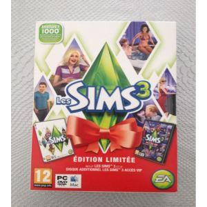 Les Sims 3 Pack Noël : Le jeu + l'extension Accès VIP [MAC, PC]