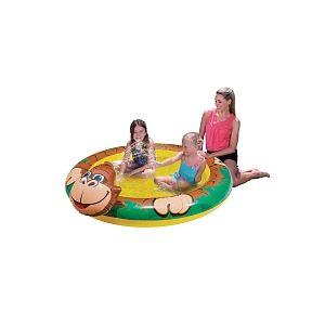 Sizzlin Cool Piscine avec jet d'eau Singe 203 x 155 cm