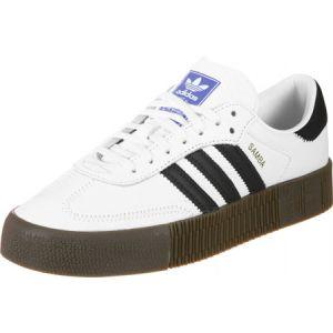 Adidas Sambarose W, Blanc (Ftwbla/Negbás/Gum5 000), 40 EU