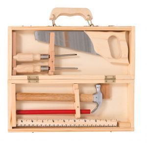 Moulin roty Petite valise bricolage (6 outils) Jouets d'hier