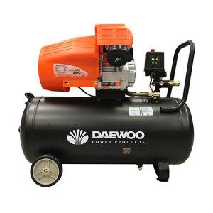 Daewoo DAC60VD - Compresseur 60 litres coaxial bi-cylindre en V 2200W 230V