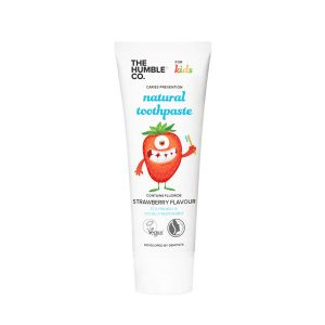 The Humble Co. Natural toothpaste strawberry flavour for kids