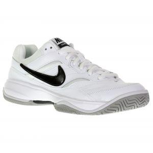 Nike Chaussure de tennis pour surface dure Court Lite pour Homme - Blanc - Taille 41 - Homme