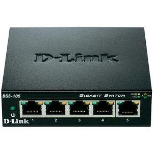 D-link DGS-105 - Switch 5 ports Gigabit Ethernet
