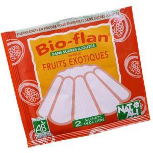 Natali Bio-flan saveur fruits exotiques sans sucres ajoutés