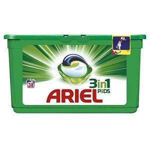 Ariel Lessive 3 en 1 Pods Régulier 38 doses