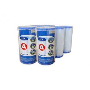 """Intex 290006 - 6 cartouches de filtration """"A"""""""