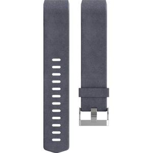 Fitbit Bracelet cuir (L - indigo) pour Charge 2