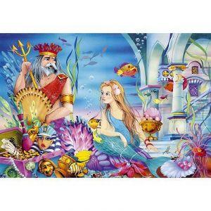 Castorland La petite sirène et le roi - Puzzle 54 pièces