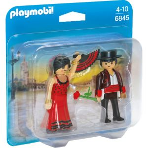 Playmobil 6845 - Pack duo danseuse de flamenco