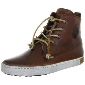 Blackstone Worker On Foxing CK02, Sneakers Hautes mixte enfant, Marron (Old Yellow), 34 EU