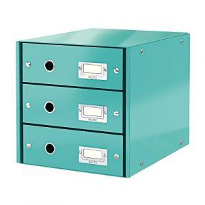 Leitz Bloc de classement à tiroirs Click & Store Menthe