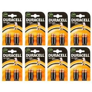 Duracell Lot de 4 Piles AAA LR3 - Long Lasting Power Alcaline