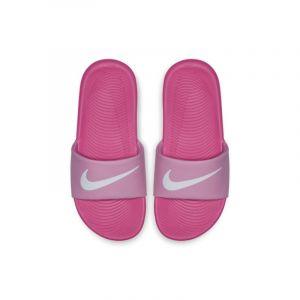 Nike Claquette Kawa pour Jeune enfant/Enfant plus âgé - Rose - Taille 28 - Unisex