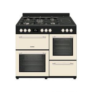 Rosières Piano de cuisson 100CM MIXTE CREME - RDYGE1060CMC/E