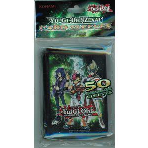 Konami Protège-cartes Yu-Gi-Oh! Zexal (50 cartes)