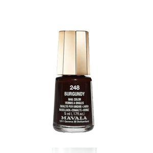 Mavala 248 Burgundy - Vernis à ongles crème