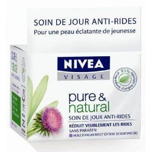 Nivea Pure & Natural - Soin de jour anti-rides