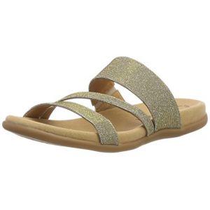 Gabor Shoes Jollys, Mules Femme, Multicolore (Platino), 43 EU