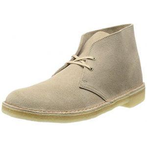 Clarks Originals - Desert Boot - Bottes - Homme - Beige (Sand) - 43 EU