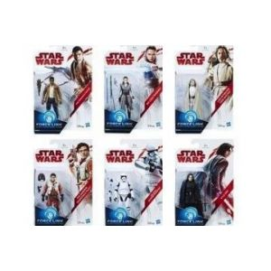 Star Wars Force Link - Figurines Ep 8 Col Orange W1 (12 pièces)