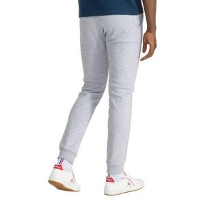 Le Coq Sportif Pantalons Le-coq-sportif Essential Slim N1 - Light Grey Heather - XXXL