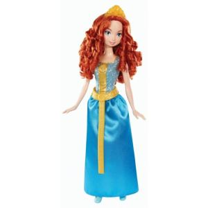 Mattel Disney Princesse paillettes : Merida (Rebelle)