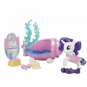 Hasbro My Little Pony Aqua Scène Sirène Rarity