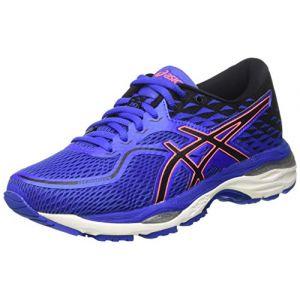 Asics Gel-Cumulus 19, Chaussures de Running Femme, Bleu (Blue Purple/Black/Flash Coral), 37.5 EU