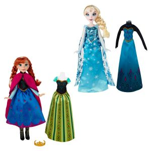 Hasbro Poupée Elsa 2 tenues La Reine des Neiges