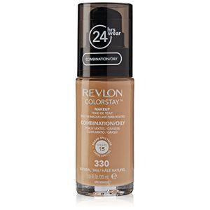 Revlon Colorstay N°330 Natural Tan - Fond de teint peaux mixtes / grasses
