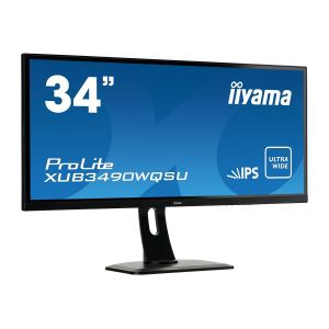 "iiyama ProLite XUB3490WQSU-B1 - Ecran LED 34"""