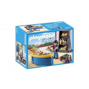 Playmobil 9457 City Life - Surveillant avec boutique