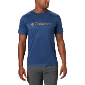 Columbia Zero Rules Graphic T shirt Homme, carbon topo lines M T-shirts