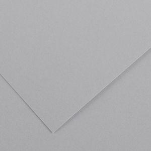 Canson 200040388 - Feuille Iris Vivaldi 50x65 240g/m², coloris gris clair 35