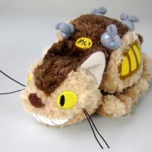 Abysse Corp Peluche Ghibli Fluffy Chat Bus