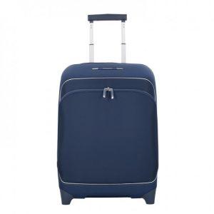 Samsonite Fuze - Upright 55/20 Expandable Bagage cabine, 55 cm, 35 liters, Bleu (Bleu Nights)