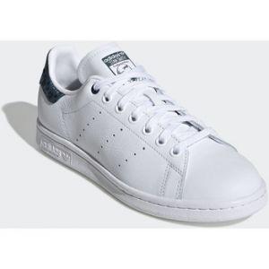 Adidas Stan Smith chaussures Femmes blanc bleu T. 40 2/3