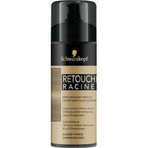 Schwarzkopf Spray masquant immédiat - Retouches Racines Blond foncé