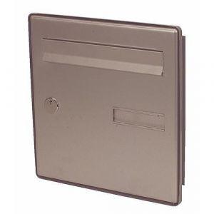 Decayeux Facade Standard De Boites Aux Lettres Cote Rue Finition:Alu