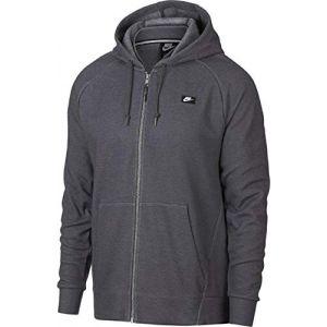 Nike Sweat à capuche entièrement zippé Sportswear Optic pour Homme - Gris - Taille L